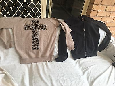 X2 Girls Pre loved Hoodie Jackets Size S-M
