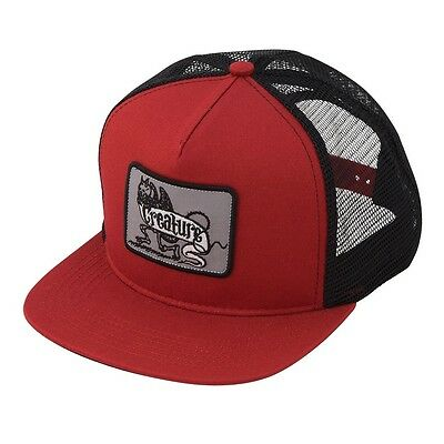 Creature IMP Skateboard Trucker Hat CARDINAL/BLACK