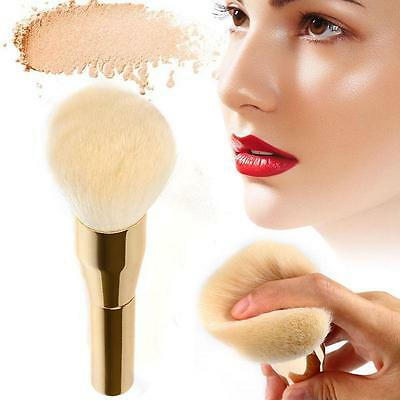 2017 NEW Pro Makeup Face Powder Foundation Blush Large Beauty Soft Hair Brush LG