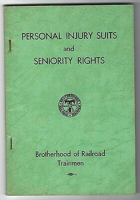 Personal Injury Suits and Seniority Rights, Brotherhood of Railroad Trainmen