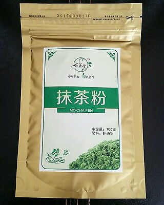 100g Matcha Green Tea Powder Organic Premium Quality - Shipping From Canada
