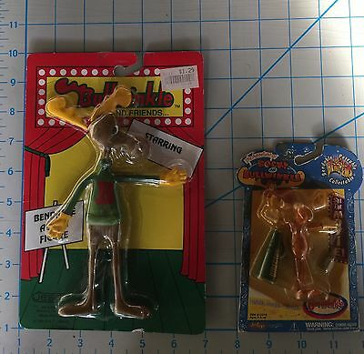 BULLWINKLE And Rocky BEND EMS Lot Of 2 Figures New In Package