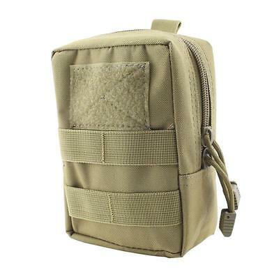 Tactical Molle Waist Bag Utility Magazine Pouch Mag Pouch Pack Hunting Pouch Tan