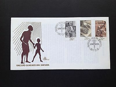 Transkei 1977 FDC , Help The Blind !