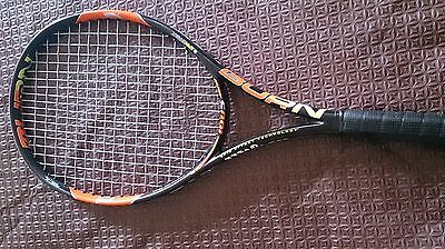 WILSON BURN 100S Tennis Racquet **** Used Once *** With Racquet Cover ***