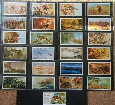 Doncella, Imperial Tobacco, History of the VC, 24 + 1 (completion) cards,1980