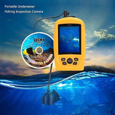 Portable 420TV Underwater Fishing Inspection Camera System Sensor Monitor 20M