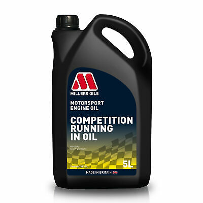 Millers Oils 5 Litres Of CRO 10W40 Running In Engine Oil - Race / Rally