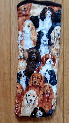 BN-SPANIELS ALL OVER- GLASSES CASE ideal small gift