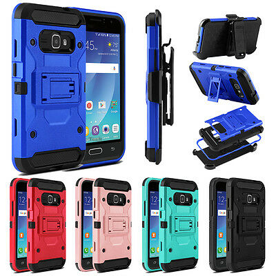 For Samsung Galaxy Luna(2016)/Amp 2/Express 3 Case Belt Clip Holster Phone Cover
