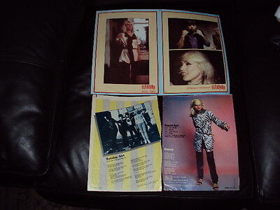Debbie Harry And Blondie - Cuttings From Pop Magazines