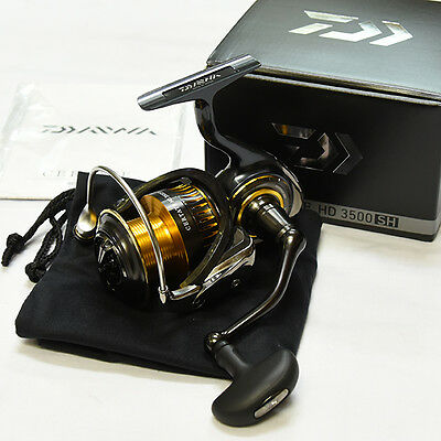 2016 NEW Daiwa CERTATE HD 3500SH Spinning Reel From Japan