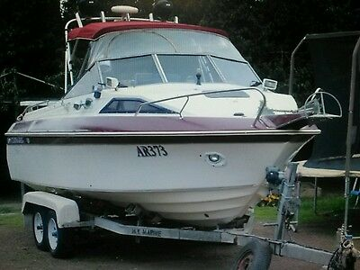 Haines signature offshore boat 22ft 200hp
