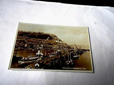 The Harbour Scarborough-Yorkshire-Postcard