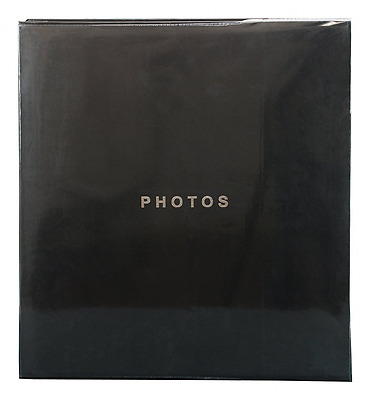 Kiera Grace Photo Album Which Holds 400, 4 by 6-Inch Photos, Black