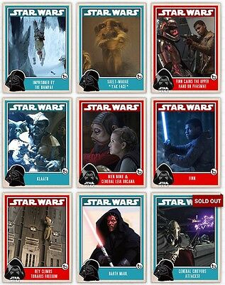 Complete Prime Set Plus Awards Topps Star Wars Card Trader