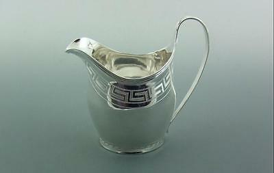 Antique Georgian  Solid Silver Milk / Cream Jug Superb Condition Bateman