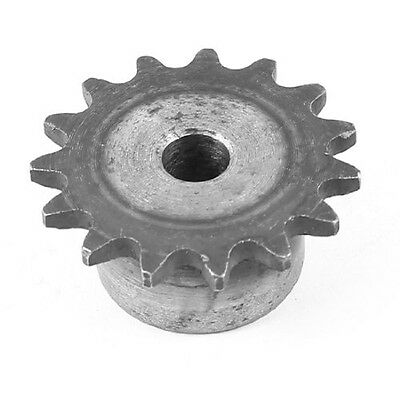 uxcell 49mm OD 10mm Inner Hole Dia Simplex Sprocket Gear Wheel 35B15T