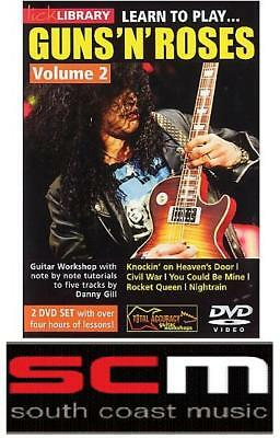Lick Library Learn To Play Guns N Roses Volume 2 Dvd!