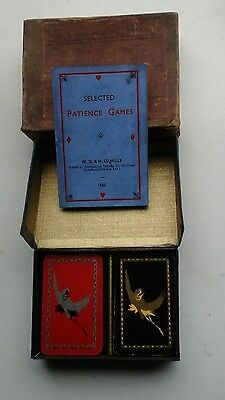 vintage Patience playing cards