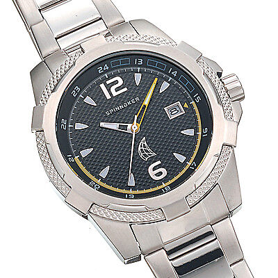 Spinnaker Rope Sp-5002-11 Men's Solid Stainless Steel Watch-Bnibwt
