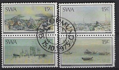 South West Africa 1975 Paintings - Otto Schroder Mnh Complete Used Set 0430