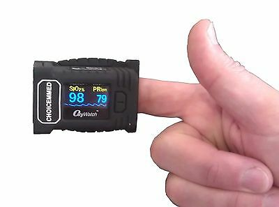"""""""OxyWatch"""" CB3 Fingertip Pulse Oximeter/Sats Monitor - Outdoor Use - UK SELLER"""