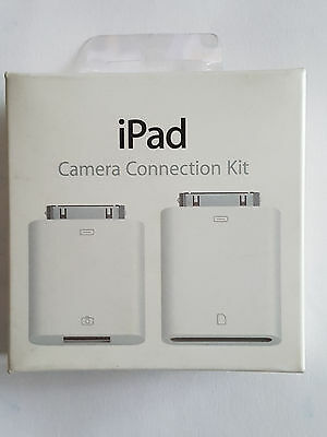 Genuine APPLE iPad Camera Connection Kit SD Card Reader MC531ZM/A