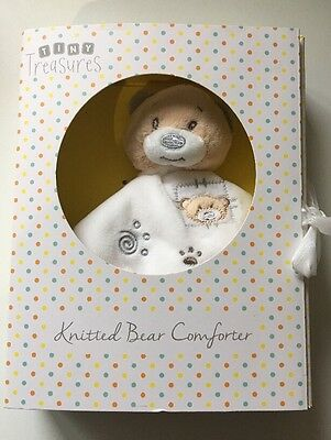 NWT Knitted Bear Comforter