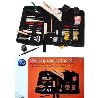 126 Pcs Watch Repair Tool Kit Spring Bars, Watch Back Case Opener - Watchmaker