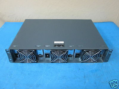 Cisco Catalyst 4000 Auxiliary Shelf WS-P4603-2PSU with 3 x PSU