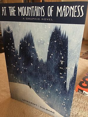 At The Mountains of Madness Graphic Novel Lovecraft