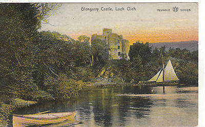 Glengarry Castle & Loch Oich, INVERGARRY, Inverness-shire