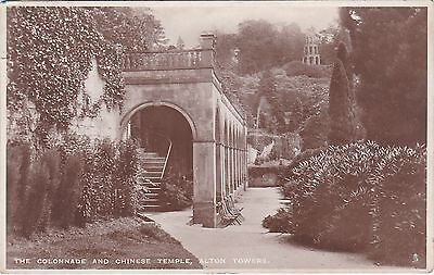 The Collonade & Chinese Temple, ALTON TOWERS, Staffordshire RP