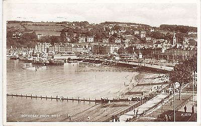 View From The West, ROTHESAY, Isle Of Bute