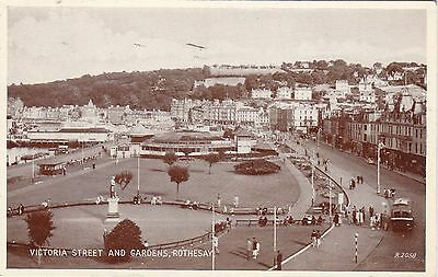 Victoria Street & Gardens, ROTHESAY, Isle Of Bute
