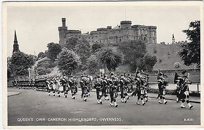 Queen's Own Cameron Highlanders, INVERNESS, Inverness-shire
