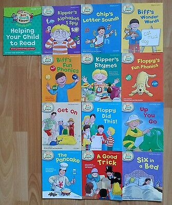 Read with Biff, Chip and Kipper, Level 1 (13 books) - Oxford