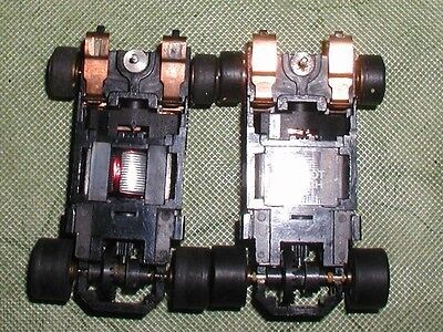 Aurora Tomy Afx Super G+ Sg+ Gold Wheel Chassis Lot 2 Quanity