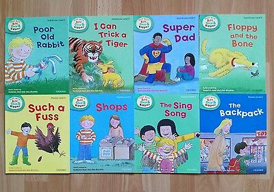 Read with Biff, Chip and Kipper Level 3 (8 books) - Oxford