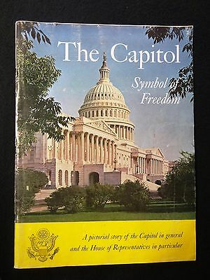 1966 THE CAPITOL Symbol of Freedom PICTORY STORY BOOKLET 89th CONGRESS Magazine