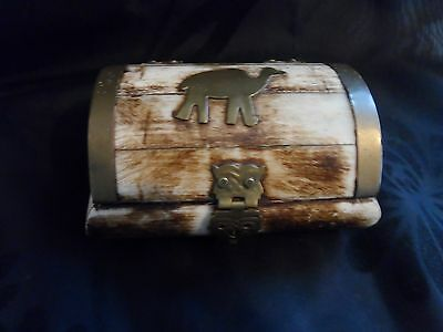 Small Chest shaped box with Camel Theme