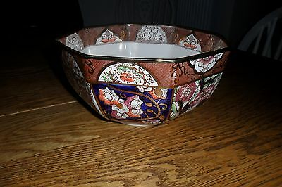 Lovely, Large Masons Ironstone Penang Bowl - Excellent condition.