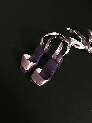 """SHOES ONLY ( Home For The Holidays ) GENE MADRA VIOLET TONNER ALEX 16"""" DOLL"""
