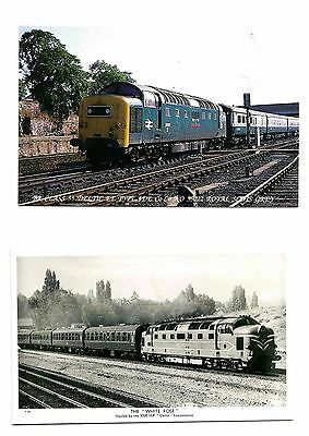 Class 55 Deltic Diesels - Lot 1 - 15 Cards