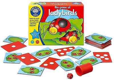 Ladybirds Card Counting Childrens Dice Game Fun Kids Children Learning Education