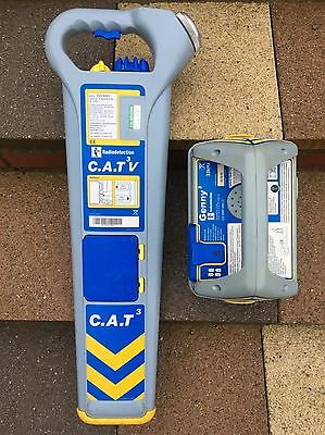 cat & genny/cable avoidance tool/cat detector/cable locator/radiodetection Cat3