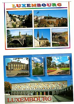 2 new postcards from LUXEMBOURG (C1)