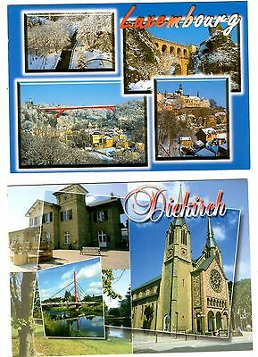 2 new postcards from LUXEMBOURG - Diekirch (J1)