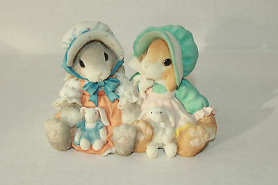 My Blushing Bunnies Blessings Multiply When Shared Figurine
